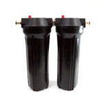 2 x 10 x2.5 Housing for Sediment & Carbon 5 Micron Filters