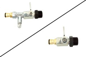DI Bypass Pure Water Outlet with and without detergent injector