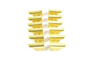 Ettore Brass Channel Clips