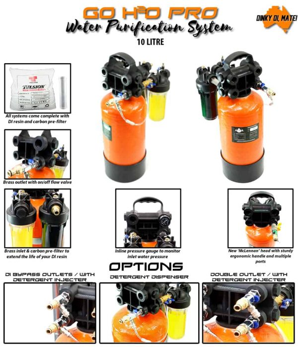 Go H2O Pro 10L