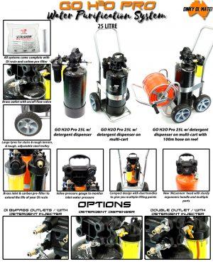 Go H2O Pro 25L