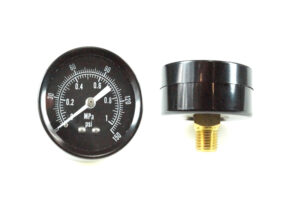 Pressure Gauge Rear Mount