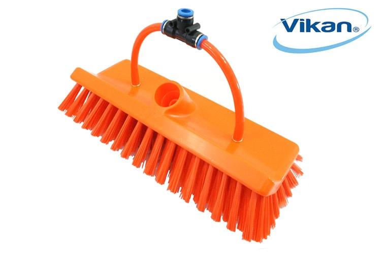 Vikan Radial Stiff Monofilament 2 Pencil Jets 10 orange