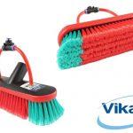 Vikan Soft Flocked Brush 2 Pencil Jets 10''