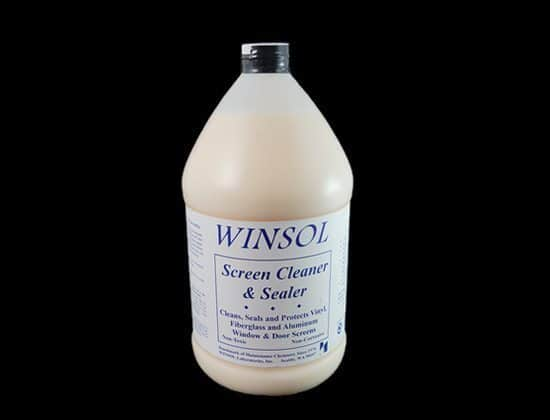 Winsol Screen Cleaner 1 Gallon (3.8l) Window Cleaning Supplies Screen Cleaner