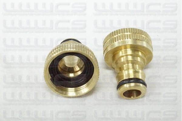 "WWWCS Brass Tap Fitting 1/2"""