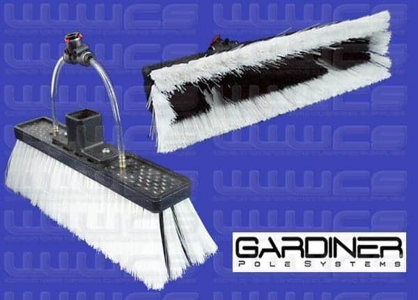 Gardiner SuperLite Brush Double Trim Mixed 10''