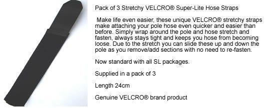 Gardiner Super-Lite Pole Hose Velcro Straps