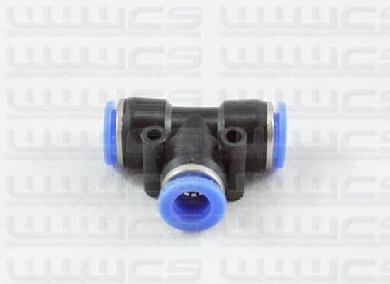 WWWCS Quick Connect TEE 8mm (OD)