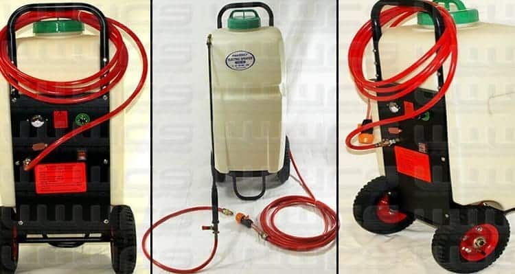 35 Litre Water Trolley with 12V Pump