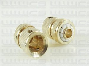 WWWCS Brass Compression Hose Connector Fitting 1/2''