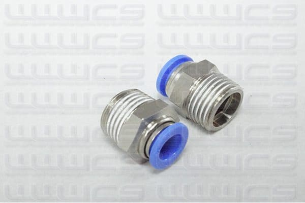 WWWCS Push Fit Connector 10mm 1/2''
