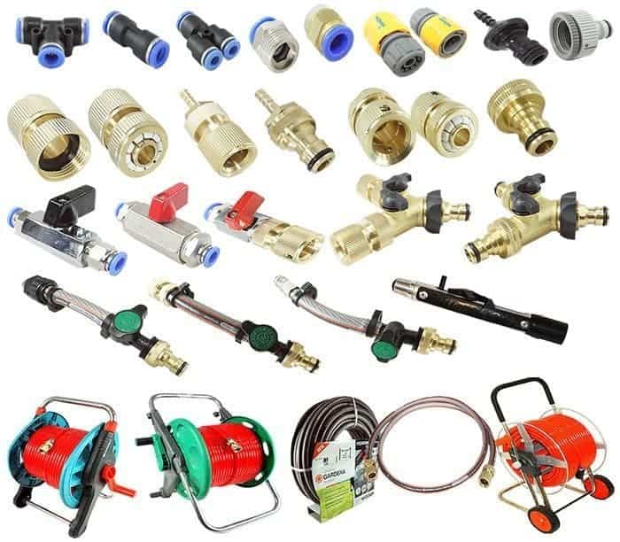Hoses - Reels, Valves, Fittings, Connectors