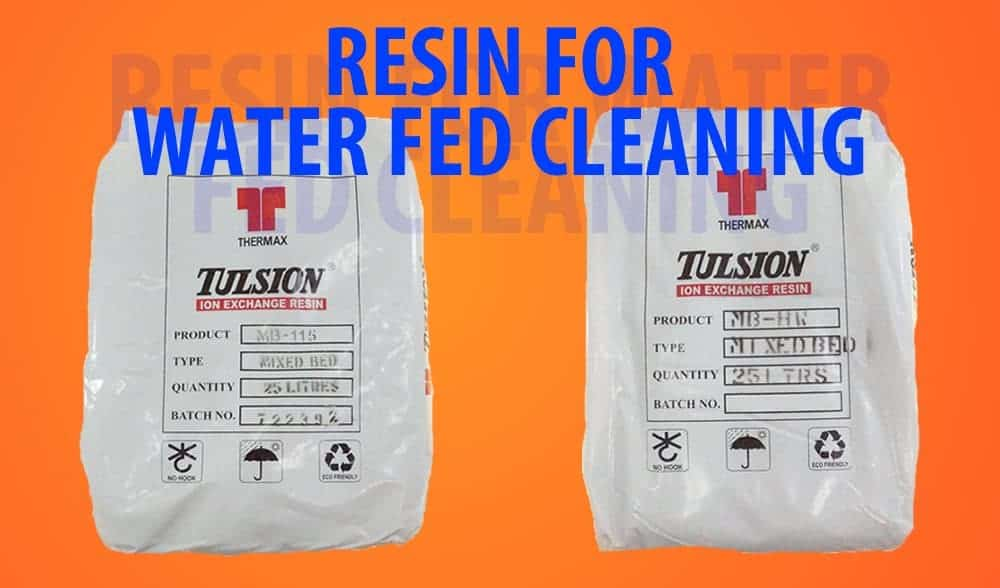 Resin For Water Fed Cleaning