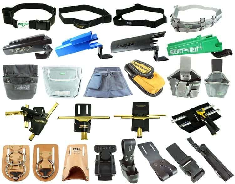 Belts, holsters and pouches