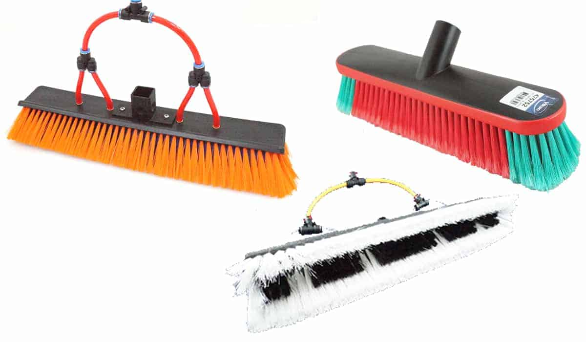 Water Fed Brushes