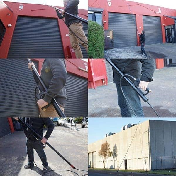 Aero Carbon Fiber Pressure Cleaning