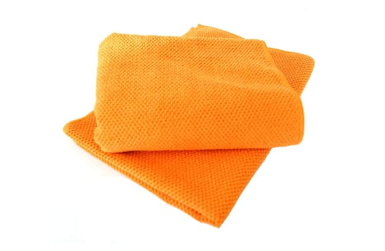 Soft waffle weave microfibre cleaning polishing - Best cloth for cleaning windows ...