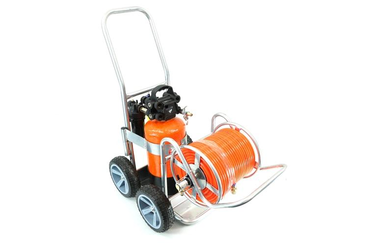 Go H2O Pro 12.5L on trolley
