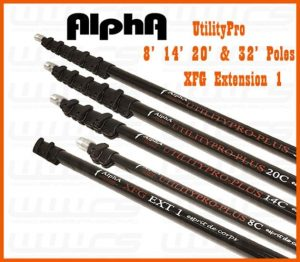 Alpha UtilityPro Hybrid Carbon Extension Poles