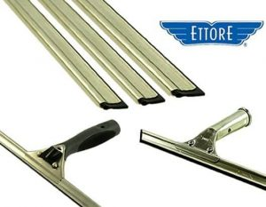 Ettore Stainless Steel Squeegees
