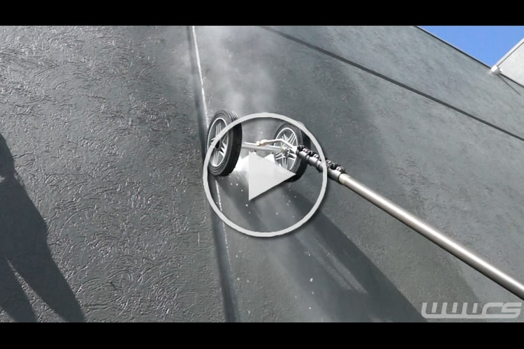 Water Broom w 10'' Wheels video