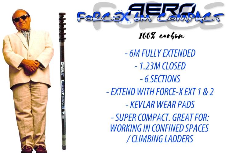 Aero ForceX 6m Compact standing w devito