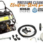 Electric Start Pressure Cleaning Package