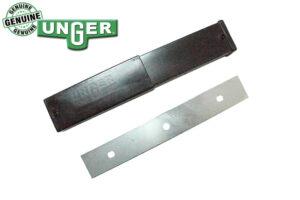 Unger Premium Glass Stainless Steel Scraper Blades - 25 pack